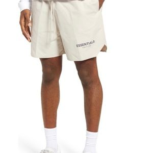 Fear of God Essentials Large Volley Shorts Stone